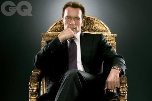 Arnold Schwarzenegger mengaku hampir meninggal akibat operasi jantung. (Foto: GQ Magazine)