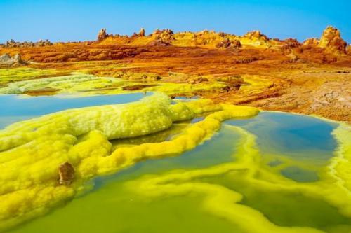 Gurun ini terletak di barat laut Ethiophia