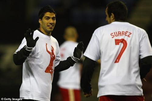 Luis Suarez saat masih berseragam Liverpool