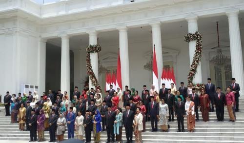 Kabinet Indonesia Maju Foto: Fakhrizal Fakhri