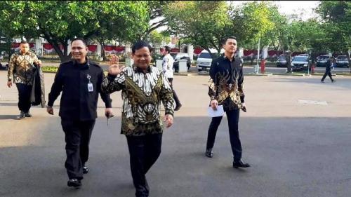 Prabowo Subianto. (Foto: Fahreza Rizky/Okezone)