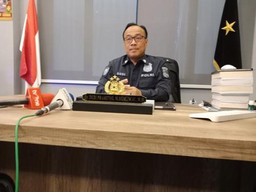 Kepala Biro Penerangan Masyarakat (Karo Penmas) Divisi Humas Polri Brigjen Dedi Prasetyo. (Foto : Okezone.com/Muhamad Rizky)