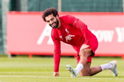 Salah mulai ikuti sesi latihan Liverpool