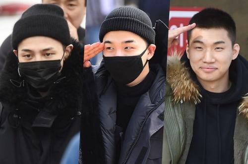 YG mengimbau fans untuk tidak menyambangi lokasi wamil G-Dragon, Taeyang, dan Daesung jelang menyelesaikan masa wamil. (Foto: Soompi)