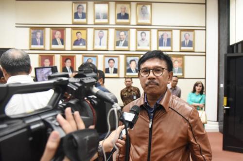 Johnny G Plate resmi menjabat sebagai Menteri Komunikasi dan Informatika (Menkominfo) di Kabinet Indonesia Maju.