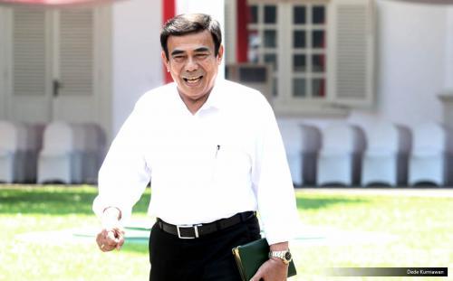 Menag Fachrul Razi. (Foto: Dede Kurniawan/Okezone)