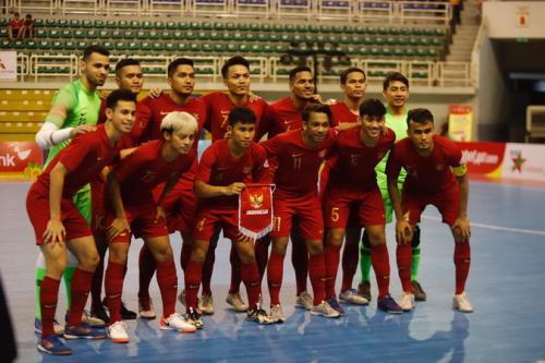 Timnas Futsal Indonesia memastikan tempat di Putaran Final Piala Asia Futsal 2020 (Foto: Federasi Futsal Indonesia)