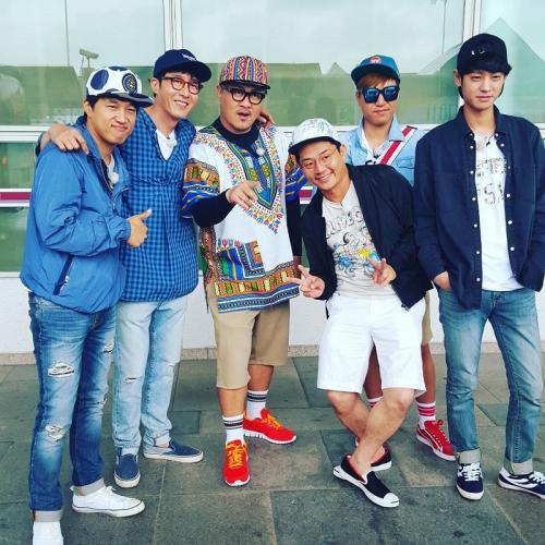 Kim Jong Min bersama member lama 2 Days 1 Night. (Foto: KBS2)