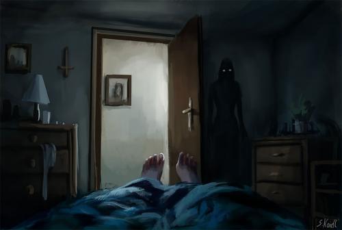 hantu di kamar