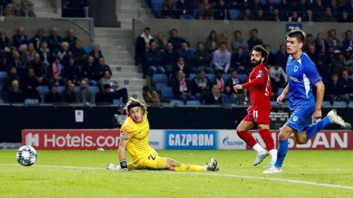 Liverpool menang telak 1-4 di markas Genk (Foto: UEFA)