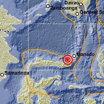 Gempa Laut Sulawesi (BMKG)