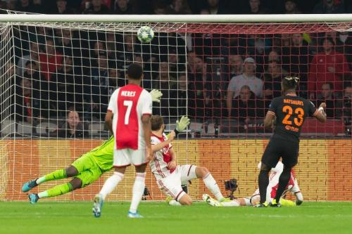 Michy Batshuayi mencetak gol tunggal di menit 86 (Foto: UEFA)