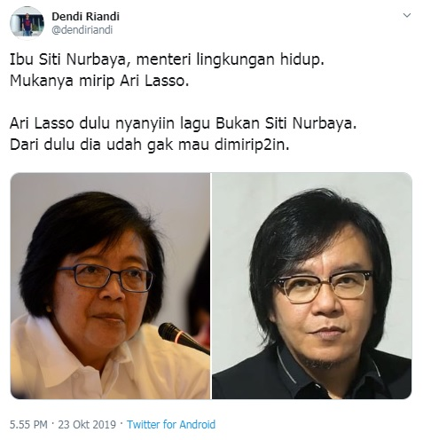 Siti Nurbaya dan Ari Lasso