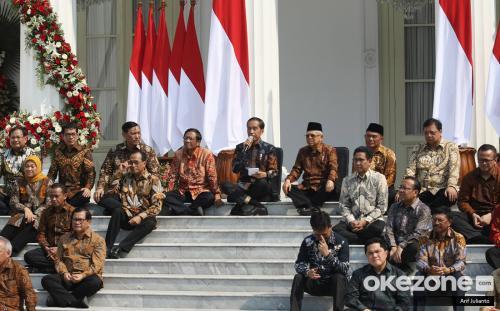 Kabinet Indonesia Maju. (Foto: Arif Julianto/Okezone)
