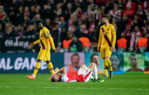Slavia Praha vs Barcelona (Foto: UEFA)