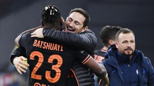 Michy Batshuayi dan Frank Lampard UEFA