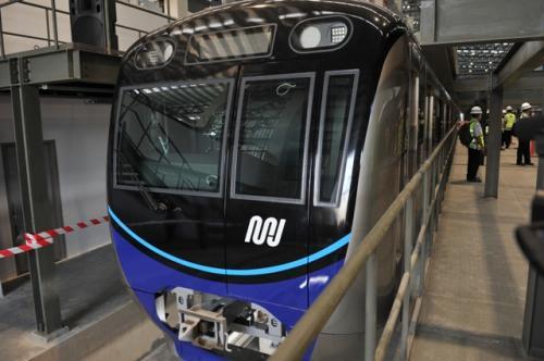 MRT Jakarta. (Foto: Dok Pemprov DKI)