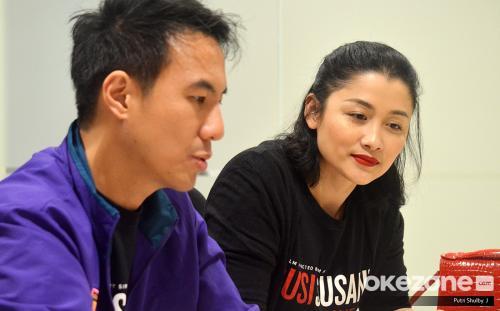Jenny Zhang dan Daniel Mananta