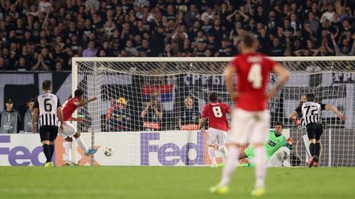 Partizan Belgrade vs Man United