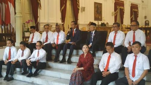 Jokowi bersama Wakil Menteri