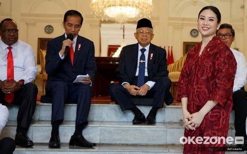 Jokowi lantik angela