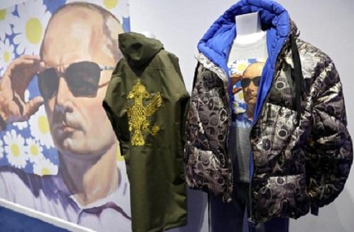 Fashion bertema Putin