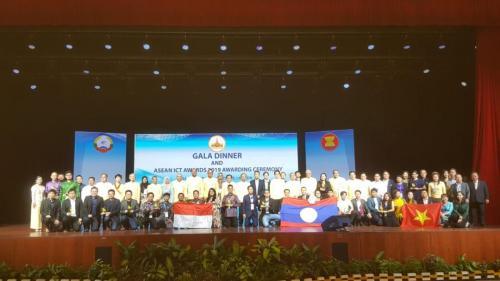 Tahun ini merupakan pencapaian terbaik Tim ASEAN ICT Award atau AICTA Indonesia selama 8 kali keikutsertaannya berturut-turut.