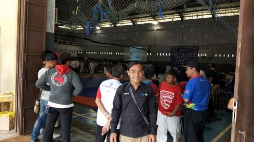 Kejuaraan judo tingkat provinsi di Kebumen
