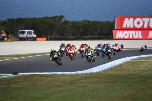 Valentino Rossi mengusulkan MotoGP Australia dipindahkan ke awal musim (Foto: Yamaha MotoGP)