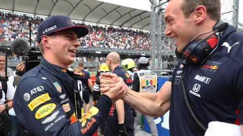 Pembalap Tim Red Bull Racing, Max Verstappen
