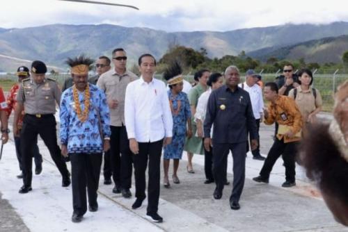 Jokowi Kunker ke Papua