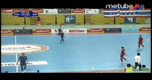 Timnas Futsal Indonesia harus mengakui keunggulan Thailand di Final (Foto: MNC Media)