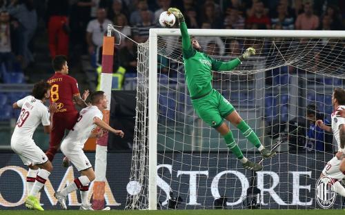 AC Milan tumbang 1-2 di tangan AS Roma (Foto: AC Milan)