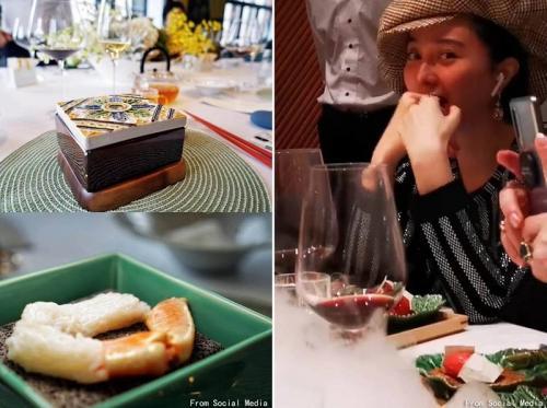 Fan Bingbing menghabiskan uang Rp79 juta sekali makan. (Foto: Weibo/IST)