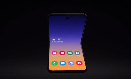 Samsung Perkenalkan Ponsel Lipat dengan Konsep Baru