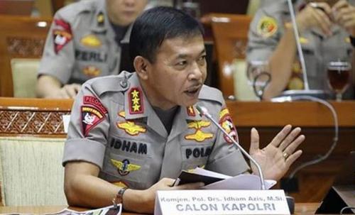 Komjen Idham Azis menjalani fit and proper test calon Kapolri di DPR. (Foto: Humas Polri)