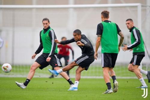 Juventus sedang melakukan sesi latihan