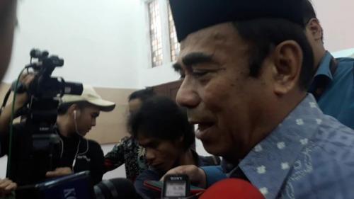 Menag Fachrul Razi. (Foto : Okezone.com/Novie)