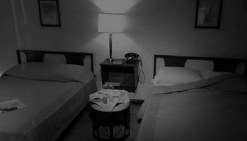 kamar hotel kuno