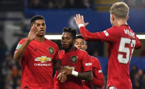 Man United berhasil menang 2-1 di kandang Chelsea (Foto: Twitter/Man United)