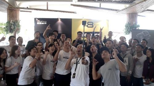 GoPro bekerjasama dengan Erajaya Group telah meluncurkan HERO8 Black, Mod, dan MAX.