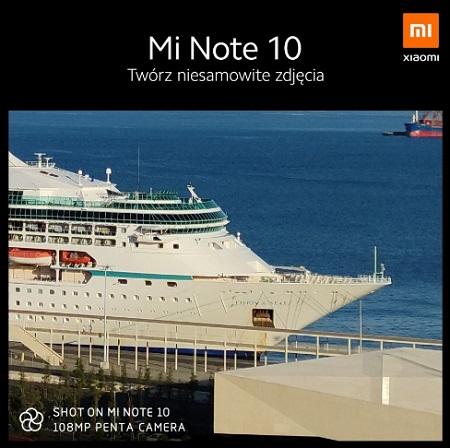 Xiaomi Luncurkan Mi Note 10 pada 14 November 2019