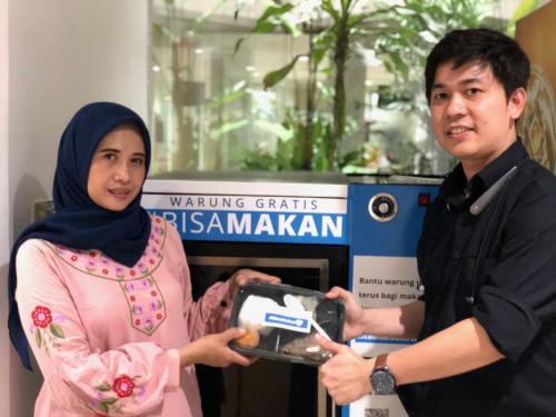 Koordinator Gizi RS Evasari Jakarta Nurbaiti coba menuturkan satu per satu kalori dari menu yang disajikan.