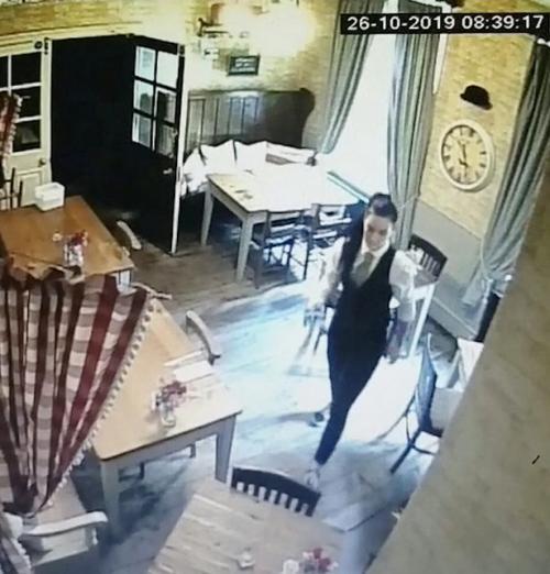 Hantu Terekam CCTV
