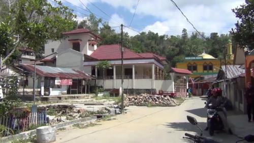 Rumah Idham Azis di Kampung Salo