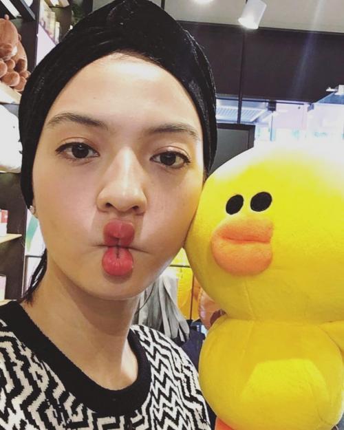 Raline Shah Duck Face