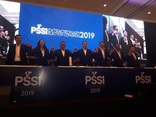 Kongres Luar Biasa PSSI 2019. (Foto: Dok Okezone)