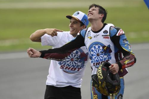 Marc Marquez dan Alex Marquez