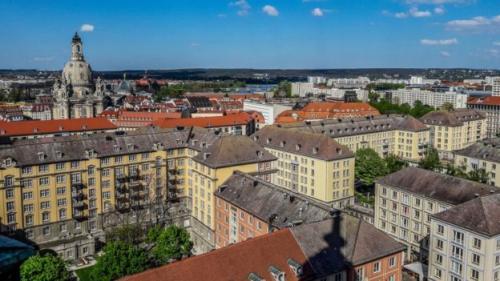 Pemerintah kota Dresden kini tengah mengajukan diri menjadi ibu kota kebudayaan Eropa. (Nurphoto via Getty Images/BBC Indonesia)
