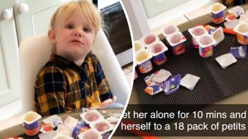 makan yoghurt begah